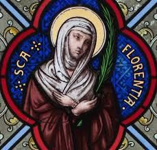 Sainte Florence, convertie par saint Hilaire († après 360)
