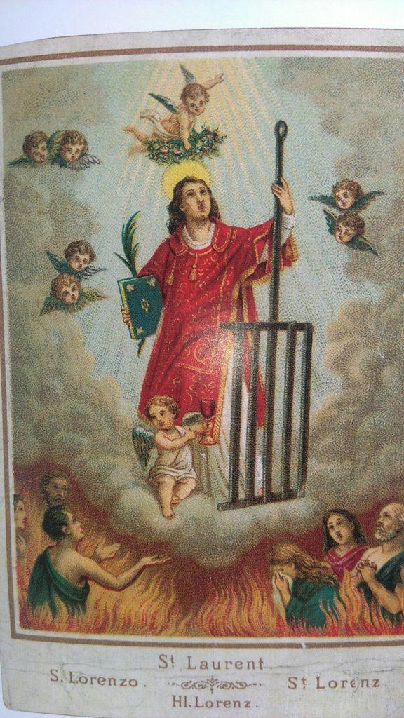 Saint Laurent, dans Le Petit Livre des Saints, Éditions du Chêne, tome 1, 2011.