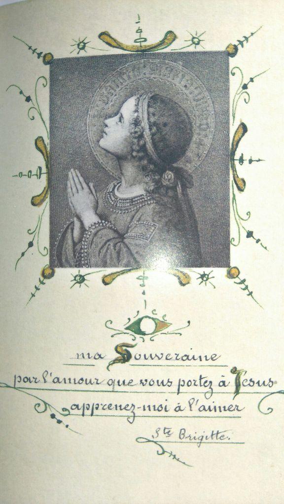 Sainte Brigitte, dans Le Petit Livre des Saints, Éditions du Chêne, tome 2, 2011, p. 29.
