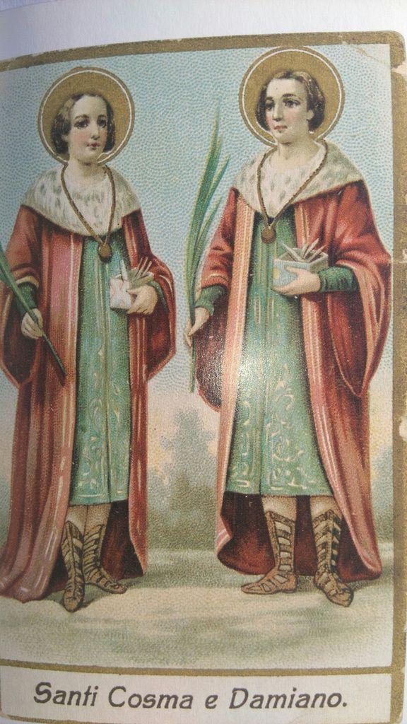 Saints Come et Damien, dans Le Petit Livre des Saints, Éditions du Chêne, tome 2, 2011, p. 50.