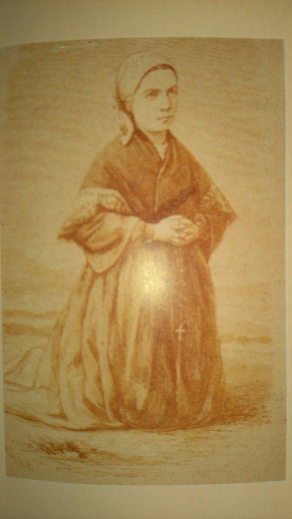 Sainte Bernadette Soubirous, image pieuse populaire, XIXe siècle, dans Rosa Giorgi, Le Petit Livre des Saints, Larousse, Tolède 2006, p. 230-231.