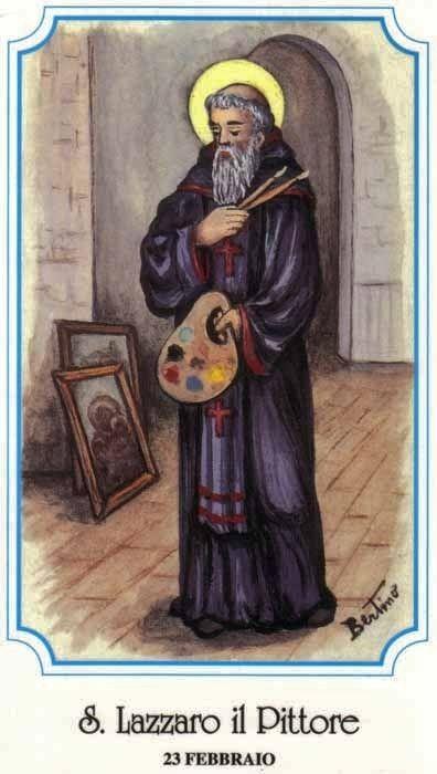 Saint Lazare, moine en Arménie († v. 867)