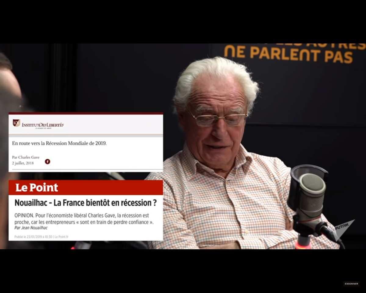 """Récession 2019 : la faute aux """"Gilets jaunes"""" ou la faute à Macron ?"""