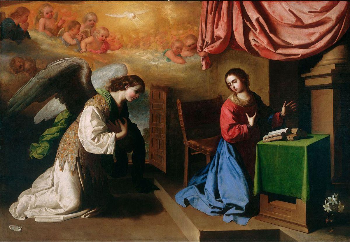 L'Annonciation de Francisco de Zurbarán - Philadelphia Museum of Art