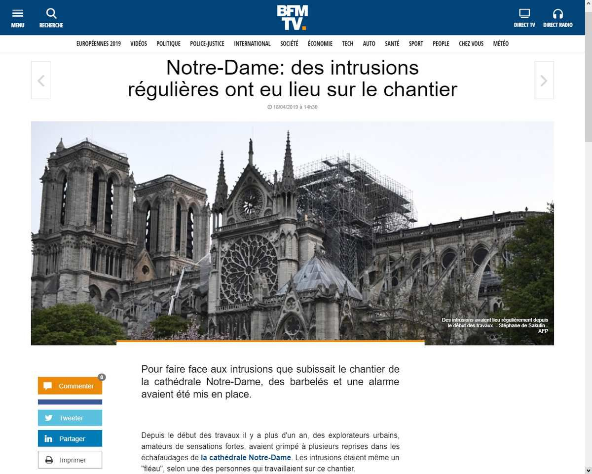 Source: https://www.bfmtv.com/societe/notre-dame-des-intrusions-regulieres-ont-eu-lieu-sur-le-chantier-1675811.html
