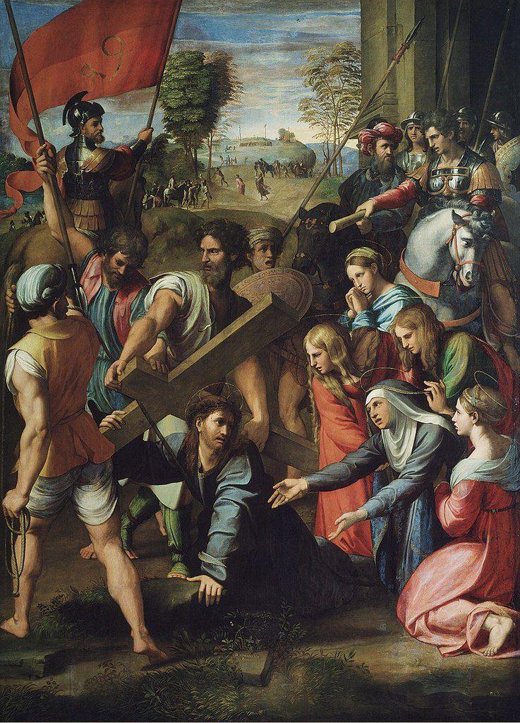 Le Portement de Croix par Raphaël