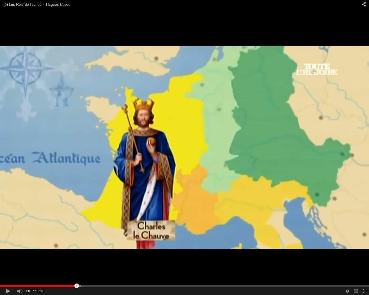 Charles II le Chauve (Roi de Francie occidentale 843-877)