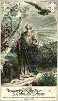 Saint Ghislain de Mons, moine évangélisateur († 681)