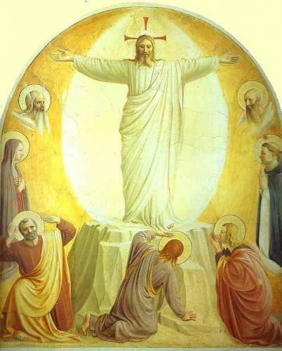 Transfiguration, Fra Angelico v. 1395-1455