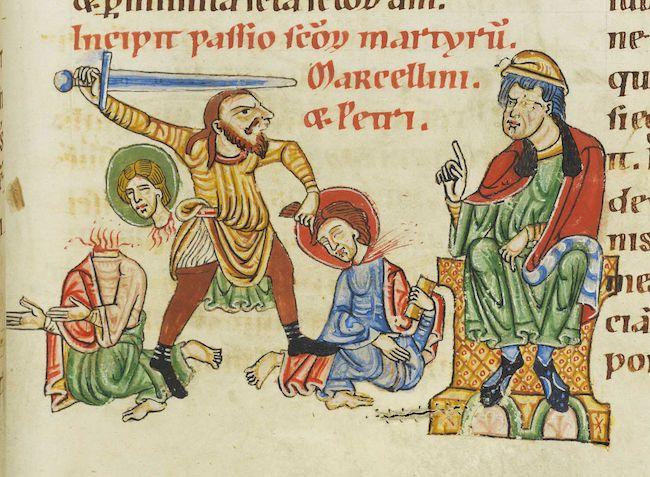 Saint Marcellin de Carthage († 413)
