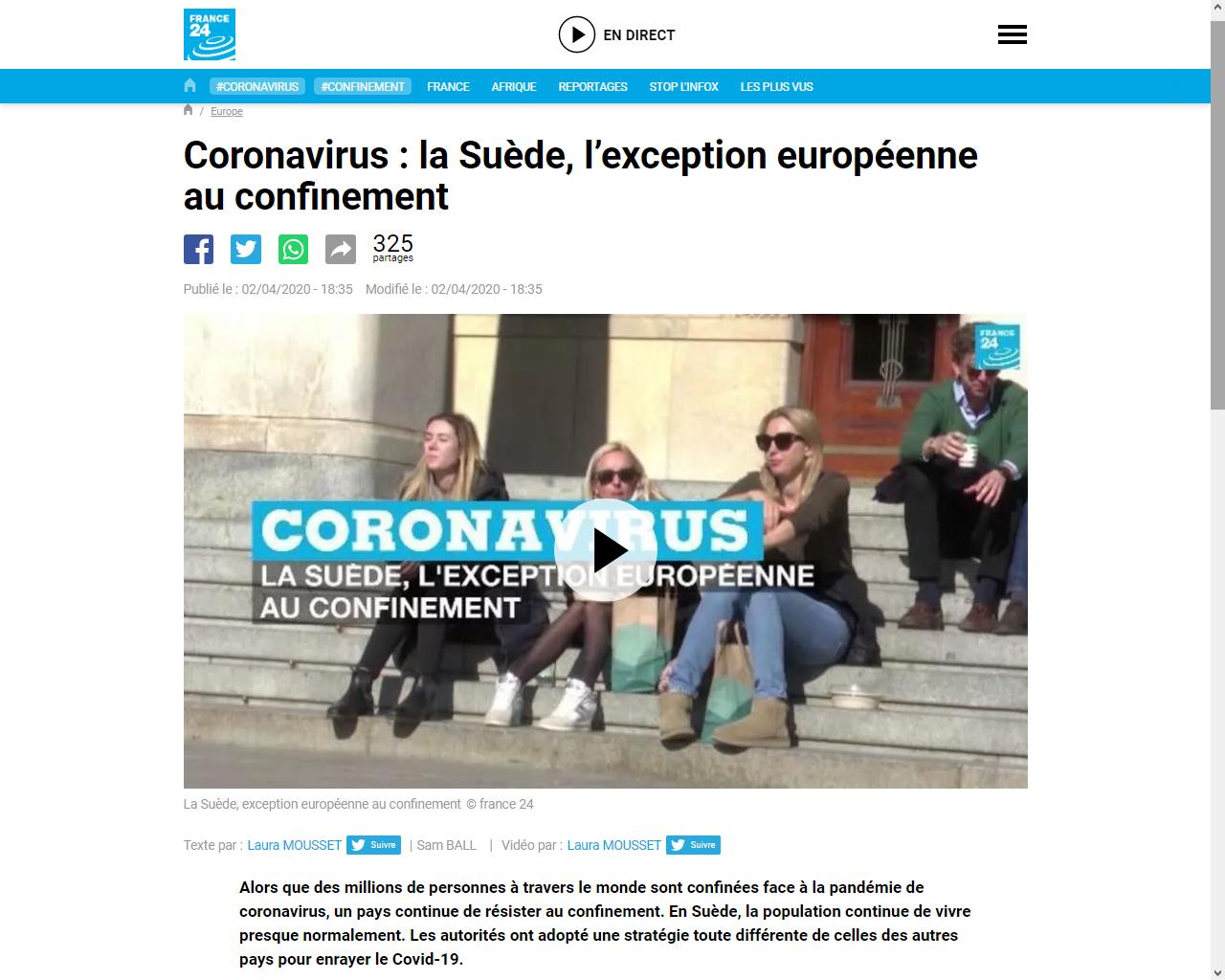 https://www.france24.com/fr/20200402-coronavirus-la-suède-l-exception-européenne-au-confinement