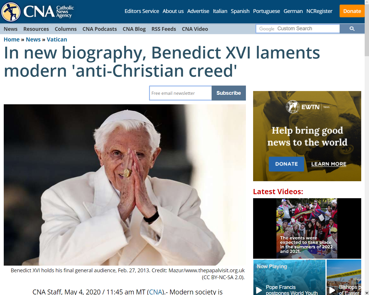 https://www.catholicnewsagency.com/news/in-new-biography-benedict-xvi-laments-modern-anti-christian-creed-83240