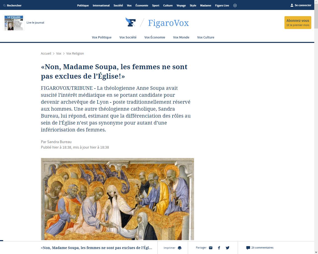 https://www.lefigaro.fr/vox/religion/non-madame-soupa-les-femmes-ne-sont-pas-exclues-de-l-eglise-20200624