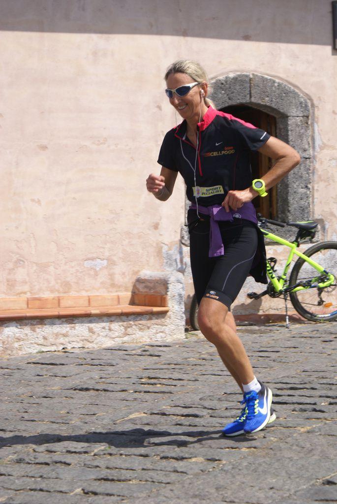 Monica Casiraghi, vincitrice della Etna Extreme 100 km del Vulcano 2017