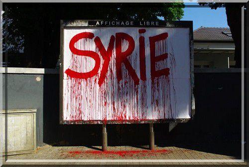 Douloureux évènements en Syrie