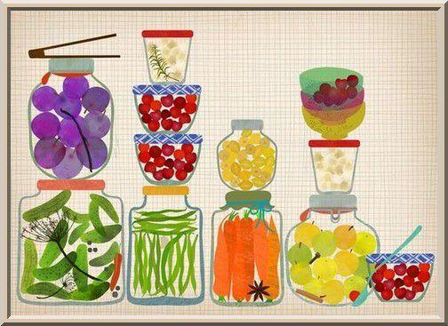Couvrir la nourriture placée dans le frigo (audio)