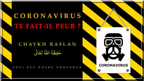 Coronavirus : Te fait-il peur ? (audio-vidéo)