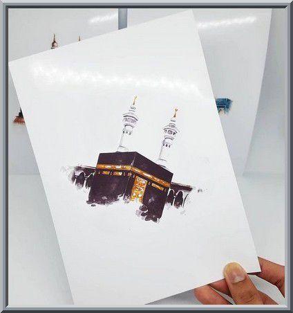 Diffuser des poèmes plaintifs et mélancoliques accompagnés d'images de la grande mosquée de La Mecque déserte suite à sa désinfection face à l'épidémie de coronavirus