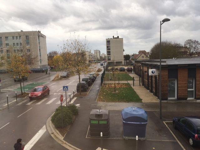 l'avenue Edouard herriot, vue du Relais