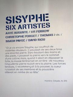 Sisyphe Six Artistes au Musée Jules DESBOIS