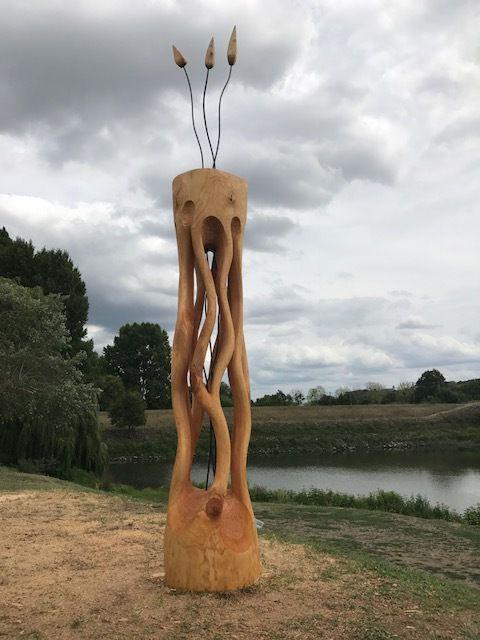 La 16ème édition du Symposium de sculpture monumentale d'Oudon est terminée !