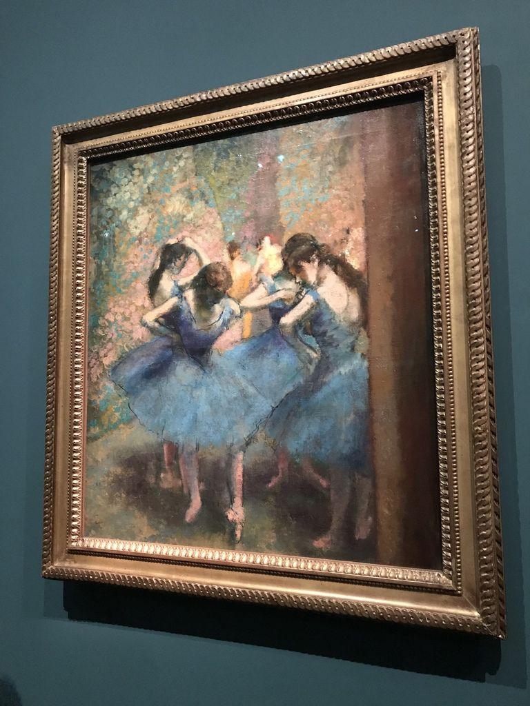 Degas Danse Dessin, exposition temporaire du Musée d'Orsay