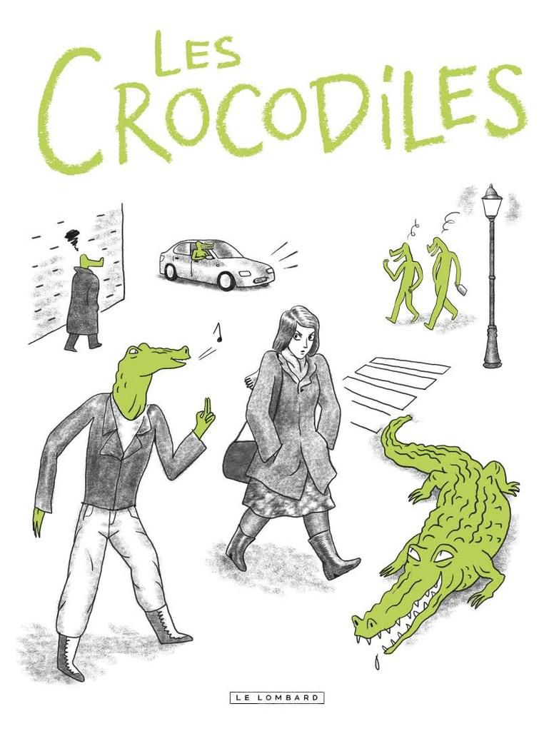 Les crocodiles de Thomas MATHIEU