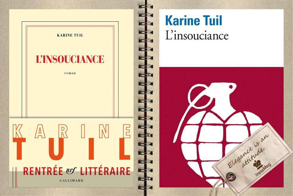 L'insouciance de Karine TUIL en version poche