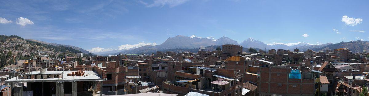 Huaraz, tout en couleur !