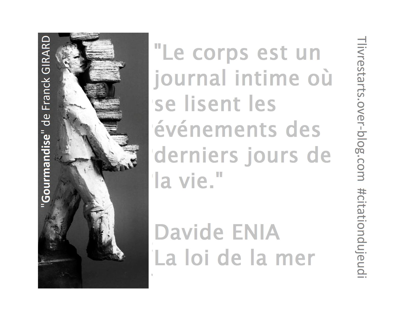 La loi de la mer de Davide ENIA