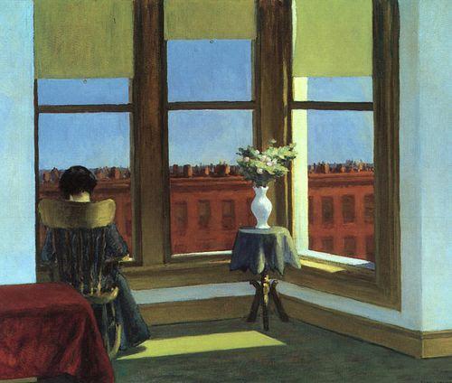 Room in Brooklyn d'Edward HOPPER