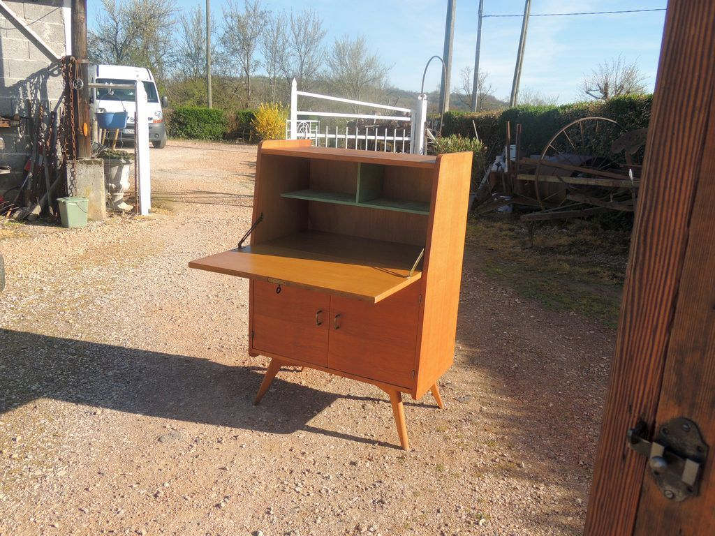 Secretaire scandinave brocante thamalet