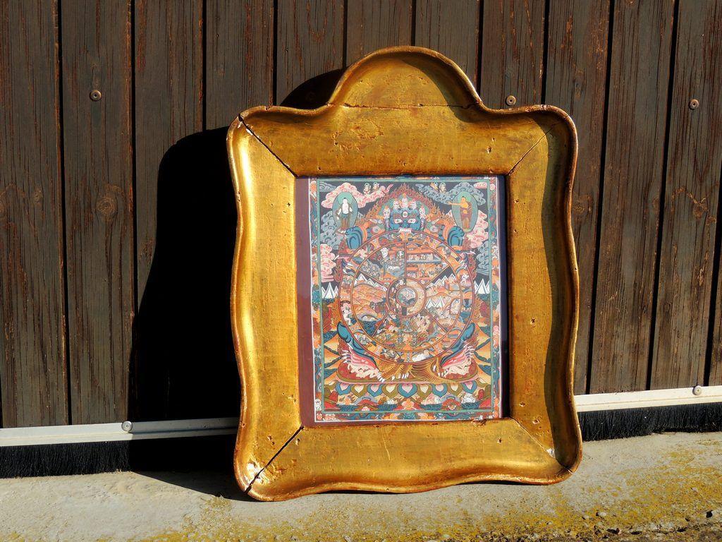 thangka tibetain brocante thamalet