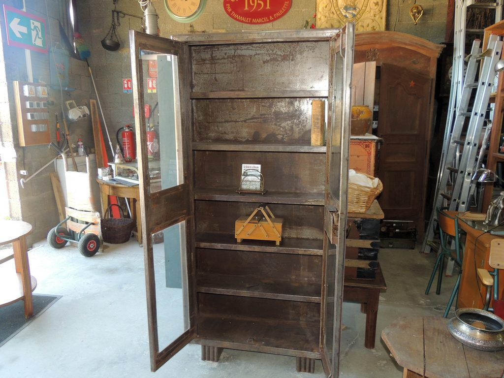 mobilier industriel brocante thamalet