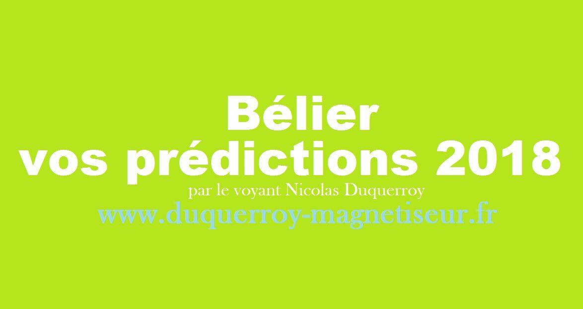 2a7f3458eed8cb Bélier vos prédictions astrologiques 2018 du voyant magnétiseur ...