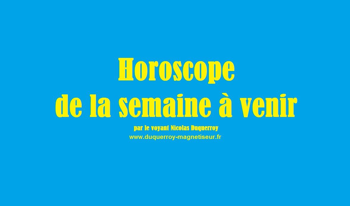 Scorpion votre horoscope