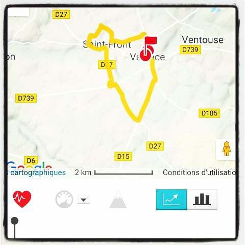 Valence Charente running