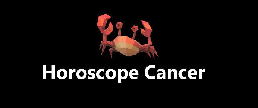 Cancer horoscope sérieux