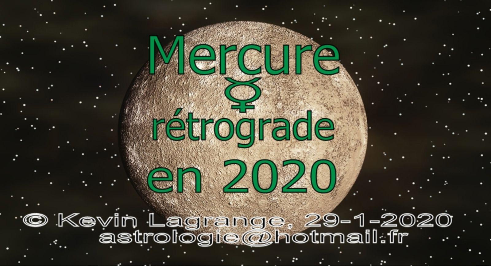 Astrologie  : Mercure rétrograde en 2020