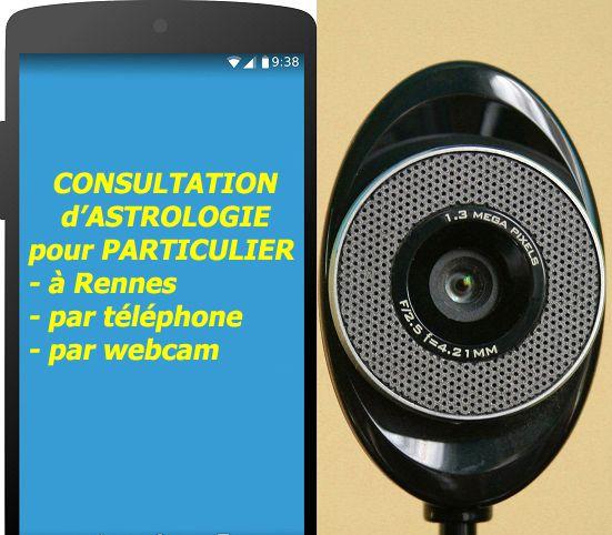Consultation d'astrologie/téléphone ou webcam ou à Rennes