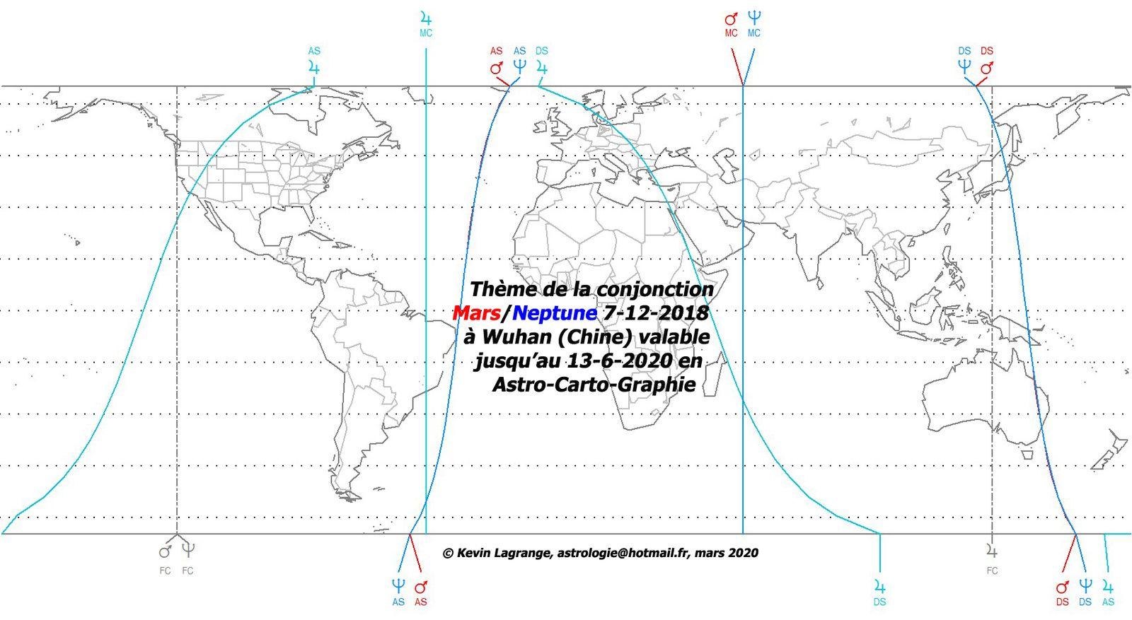 Astrologie, coronavirus, Chine monde et France