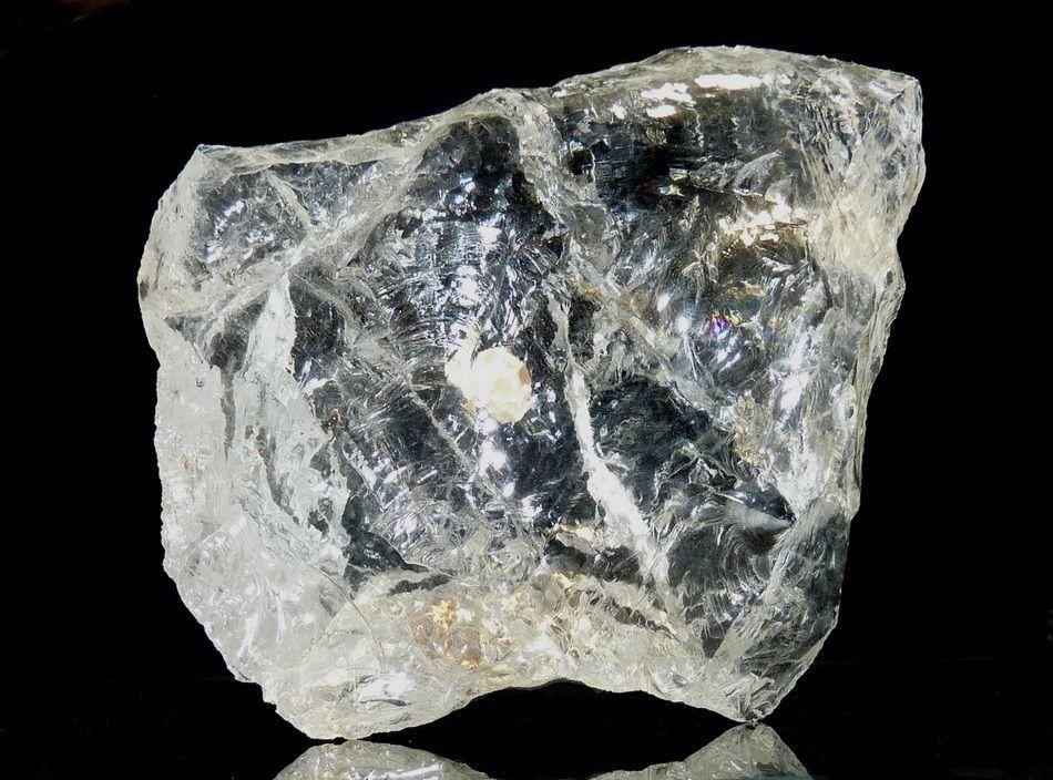 Cristal de roche Madagascar (10 x 10 cm).