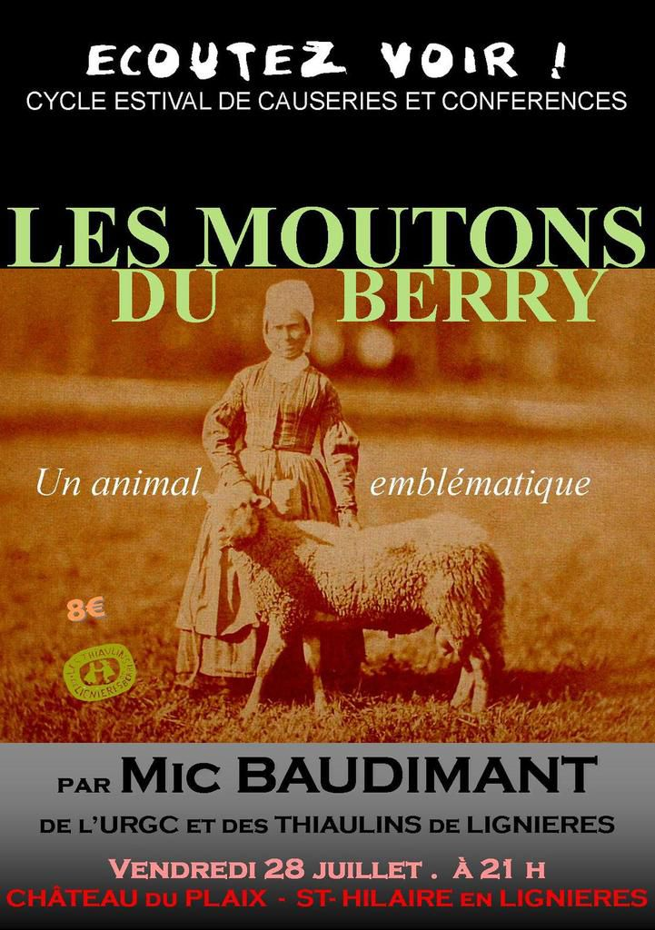 Les moutons du Berry