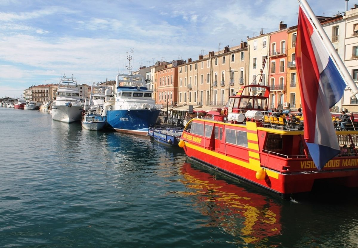 Excursion à Sète, cité maritime