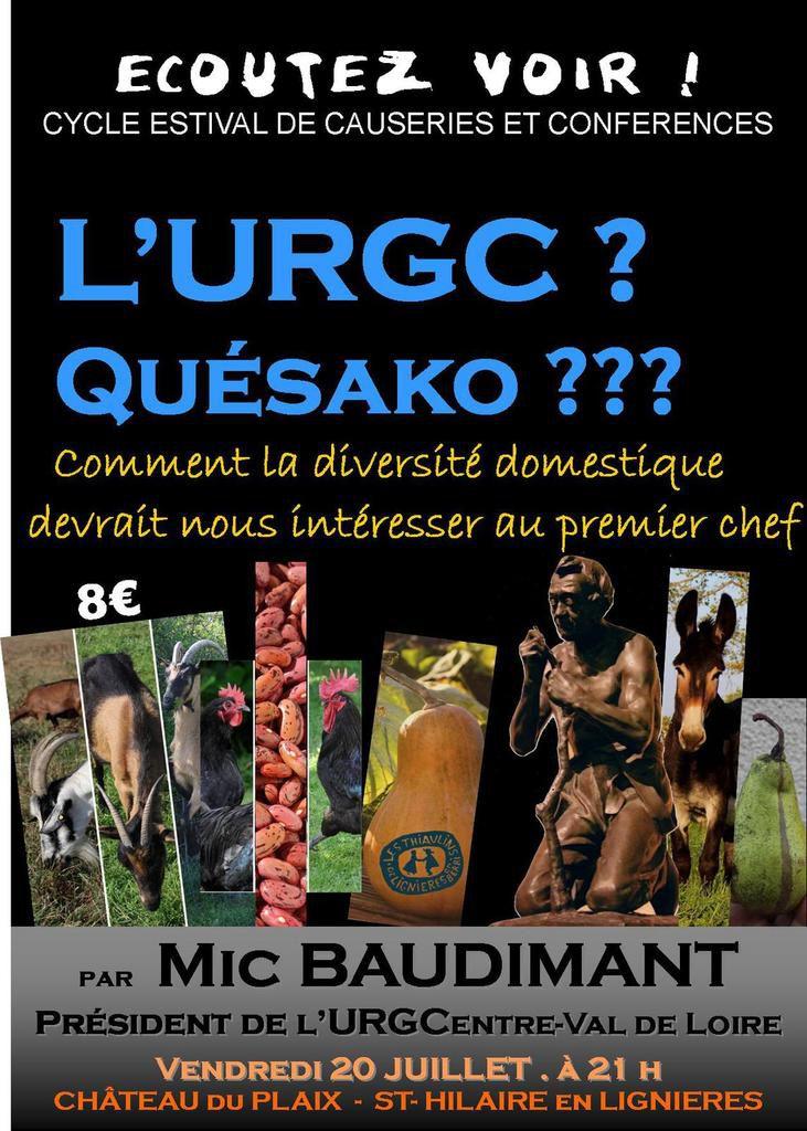 L'URGC ? Quésako ???