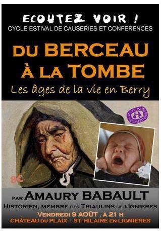 Du berceau à la tombe : les âges de la vie en Berry