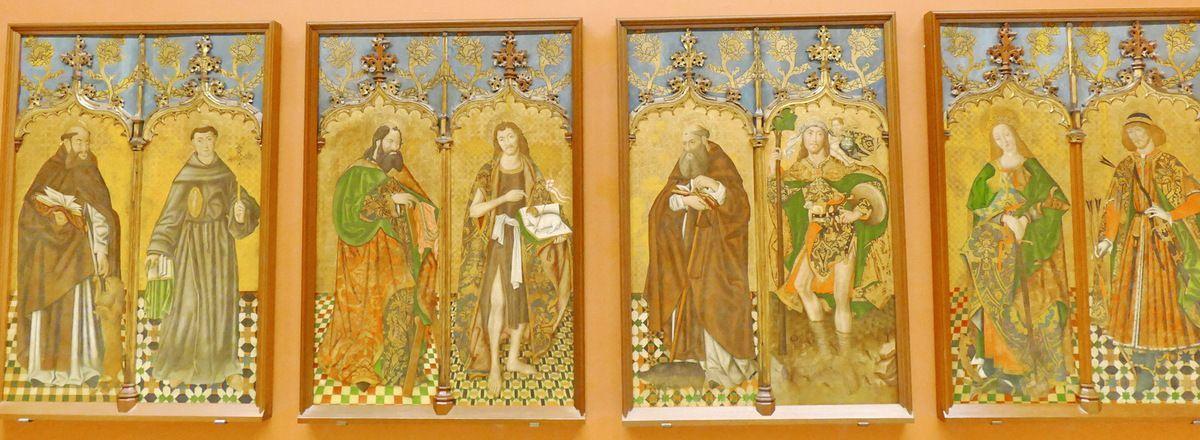 Retable du chapitre de l'église San Benito de Calatrava (vers 1480),  Musée des Beaux-Arts de Séville, photo lavieb-aile.