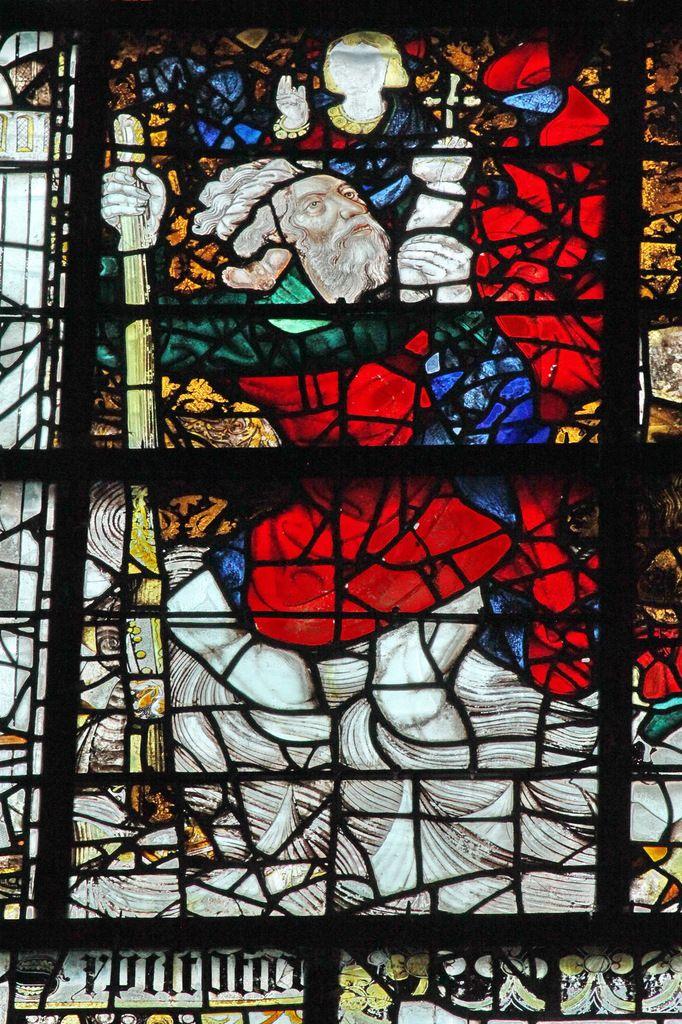 Saint-Christophe, Baie 117 (1451), André Robin , Cathédrale d'Angers, photo lavieb-aile.