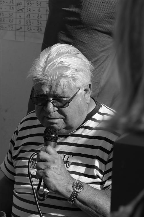 Le Président, Concours de pétanque, Île d' Hoedic, 6 août 2015, photo lavieb-aile.