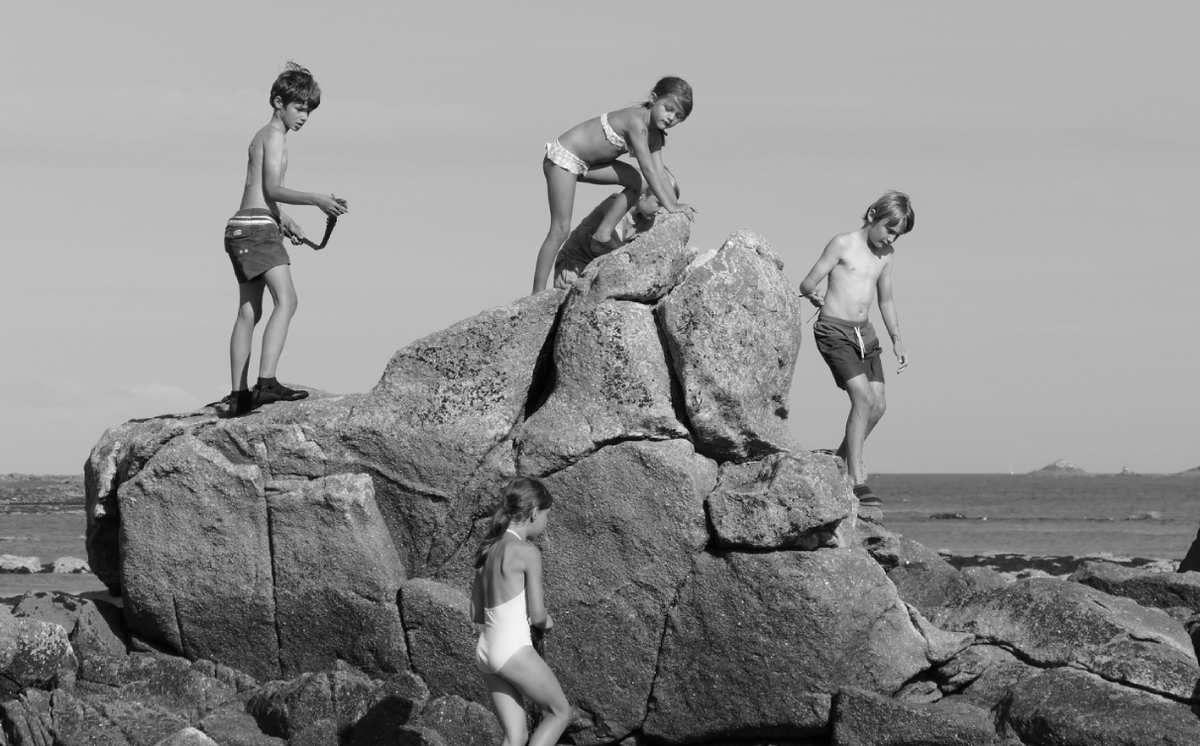 Enfances, Île d'Hoedic, photos lavieb-aile.